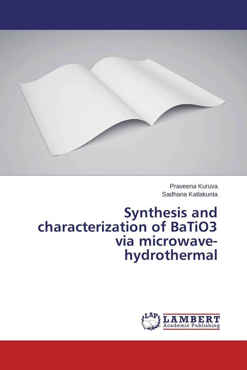 Synthesis and characterization of BaTiO3 via microwave-hydrothermal hydrothermal autoclave reactor with teflon chamber hydrothermal synthesis 250ml