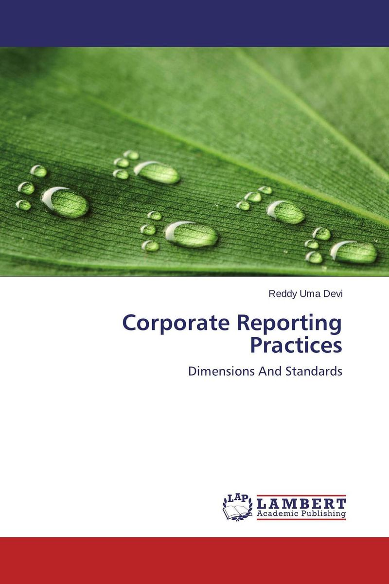 Corporate Reporting Practices corporate governance and firm value