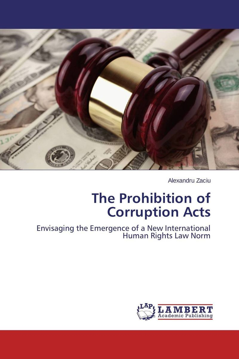 The Prohibition of Corruption Acts fighting corruption in nigeria
