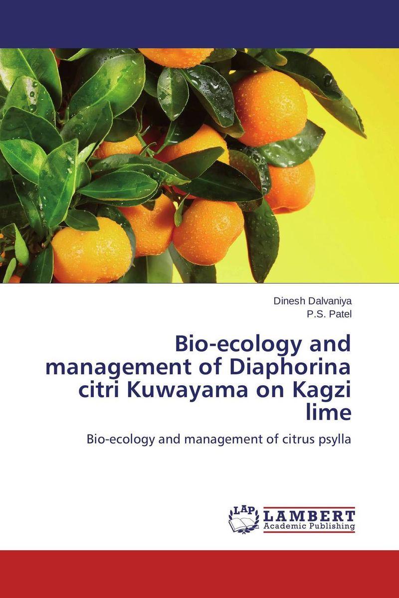 Bio-ecology and management of Diaphorina citri Kuwayama on Kagzi lime adding value to the citrus pulp by enzyme biotechnology production