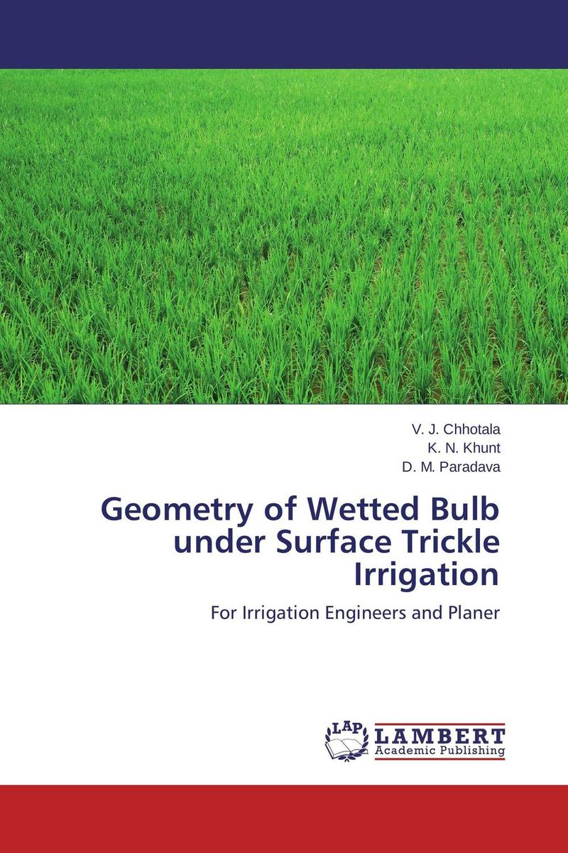 Geometry of Wetted Bulb under Surface Trickle Irrigation