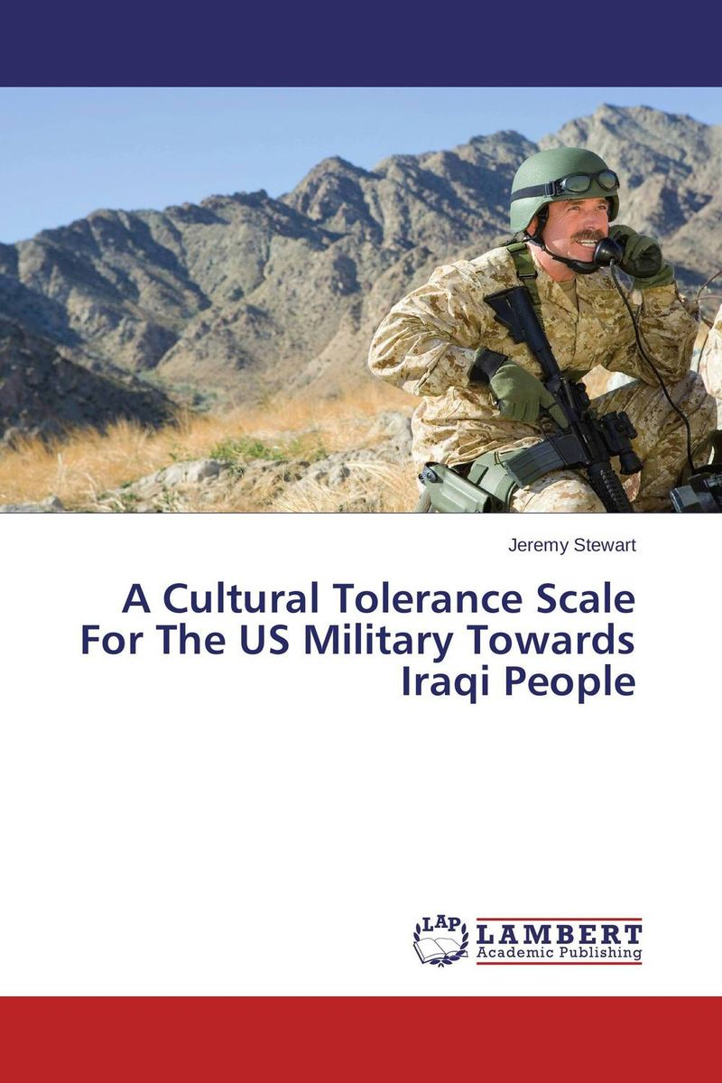 A Cultural Tolerance Scale For The US Military Towards Iraqi People a model for developing rating scale descriptors
