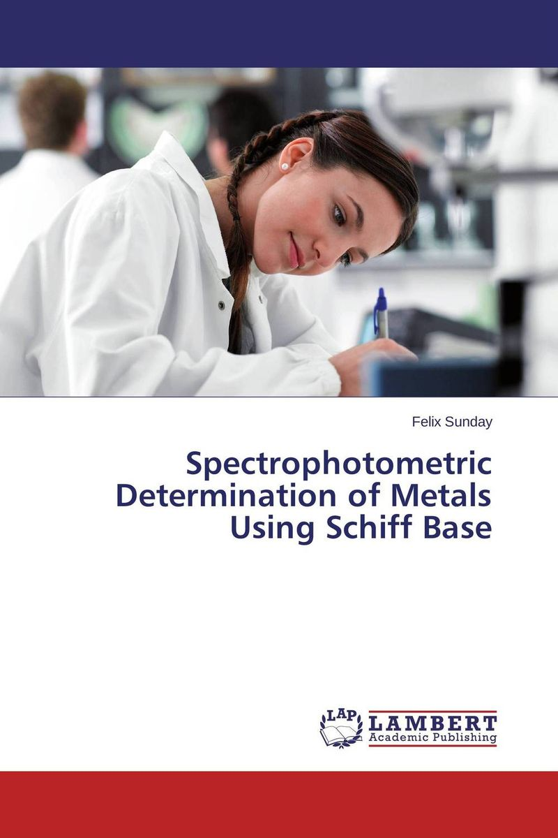 Spectrophotometric Determination of Metals Using Schiff Base