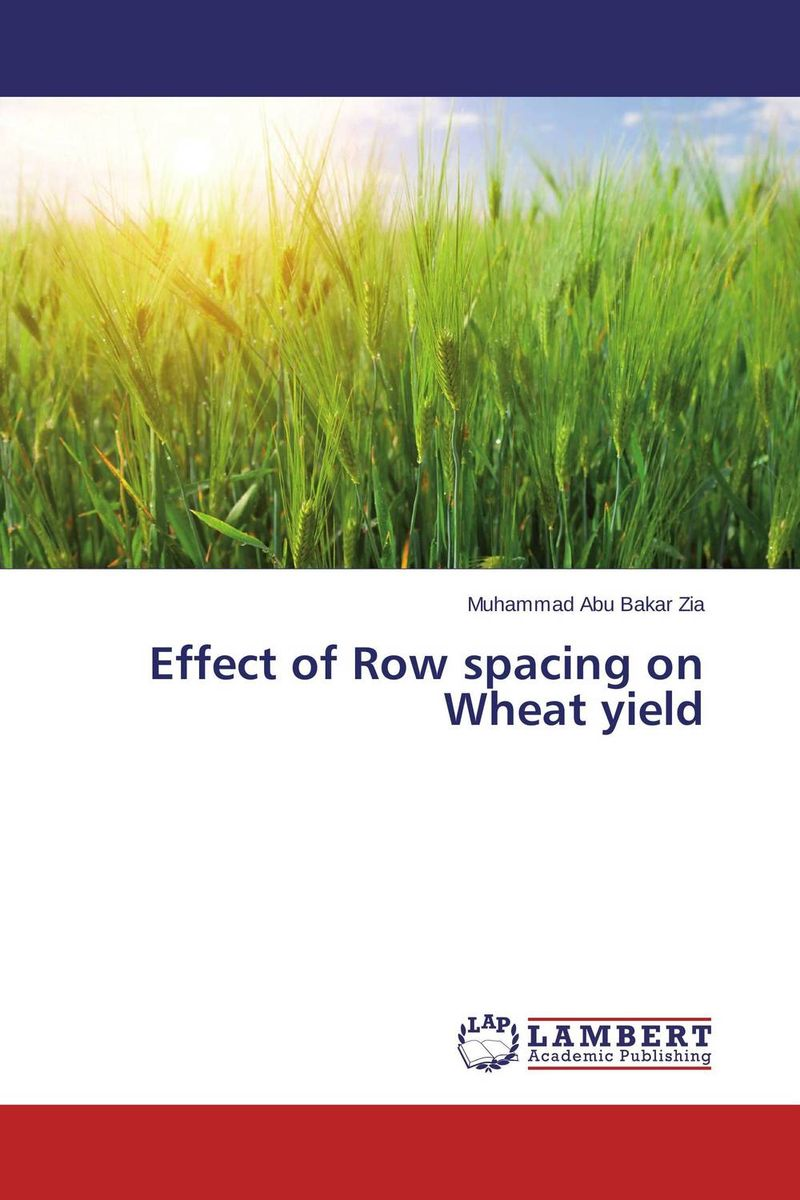 Effect of Row spacing on Wheat yield effect of methods of composting on quality of compost from wheat straw