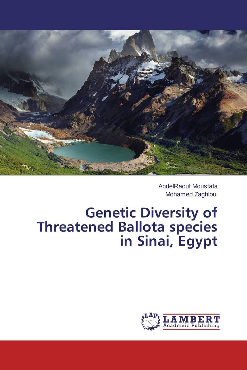 Genetic Diversity of Threatened Ballota species in Sinai, Egypt systematics on family tabanidae in egypt