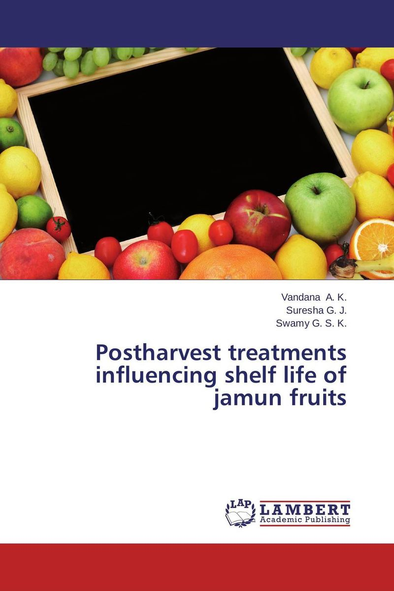 Postharvest treatments influencing shelf life of jamun fruits