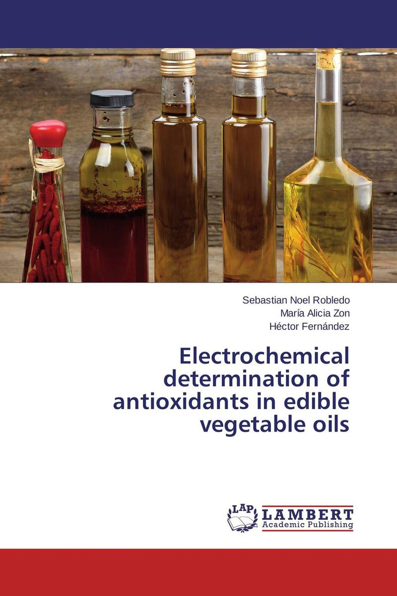 Electrochemical determination of antioxidants in edible vegetable oils