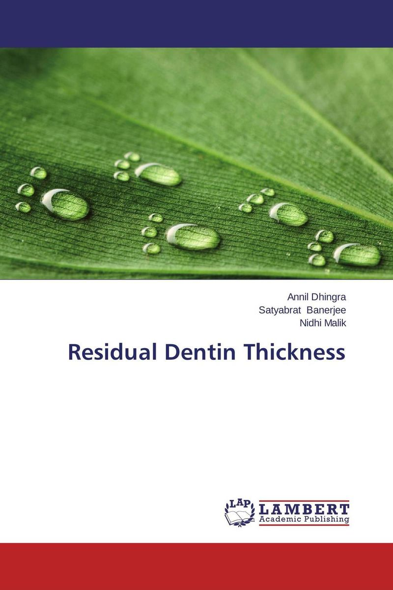 Residual Dentin Thickness the teeth with root canal students to practice root canal preparation and filling actually