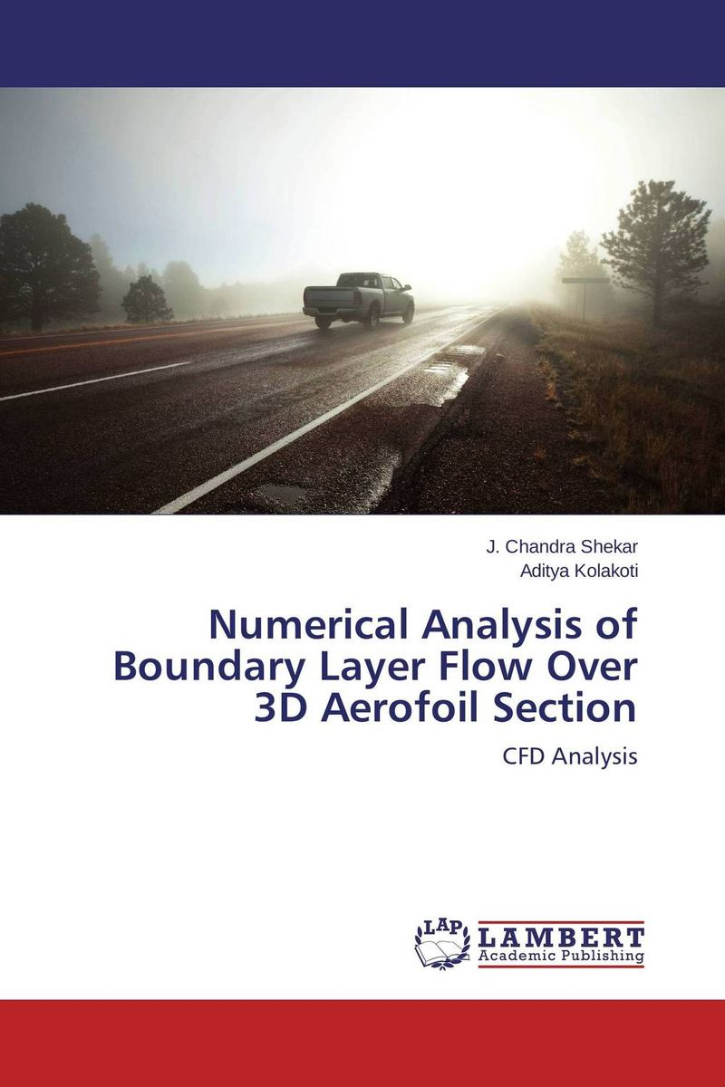 Numerical Analysis of Boundary Layer Flow Over 3D Aerofoil Section sound absorption coefficient analysis