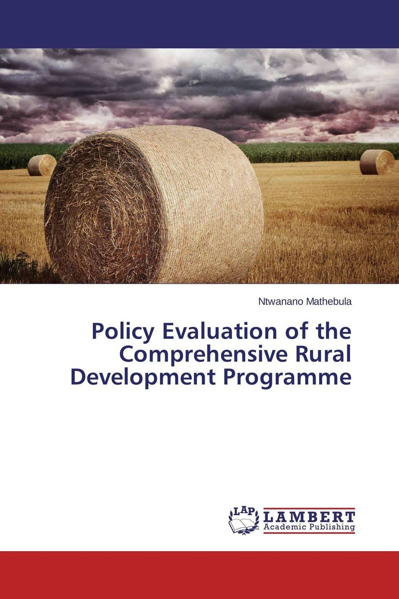 Policy Evaluation of the Comprehensive Rural Development Programme south africa argentina