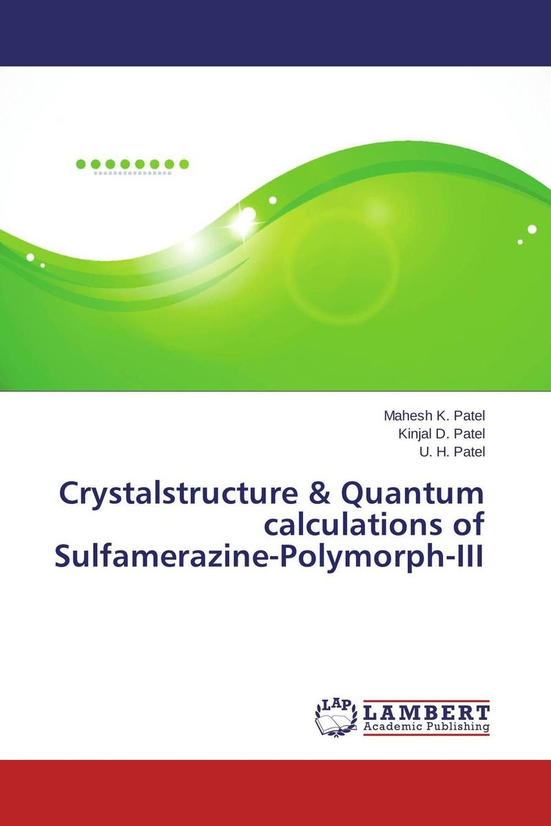 Crystalstructure & Quantum calculations of Sulfamerazine-Polymorph-III a cat a hat and a piece of string