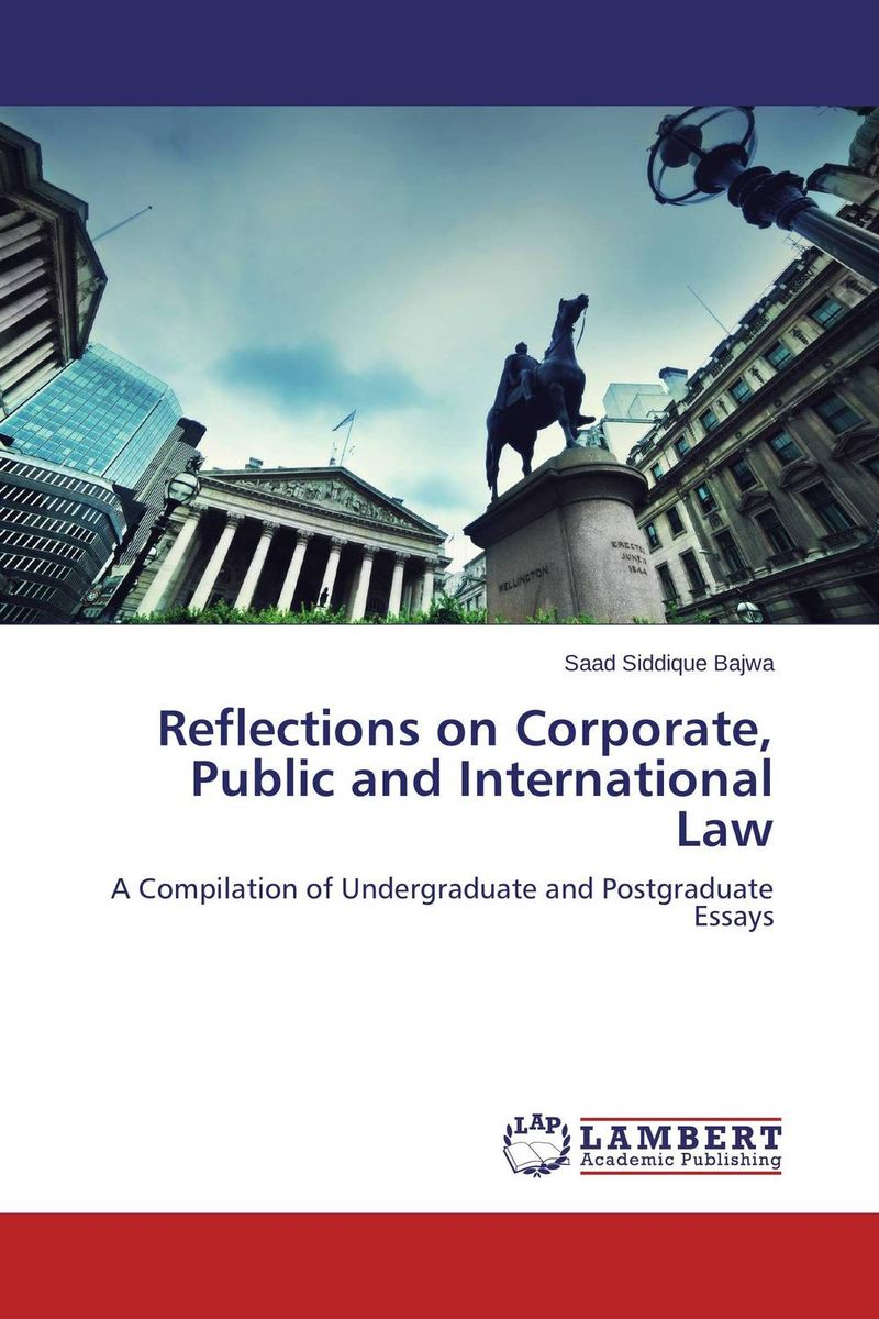 купить  Reflections on Corporate, Public and International Law  по цене 3984 рублей