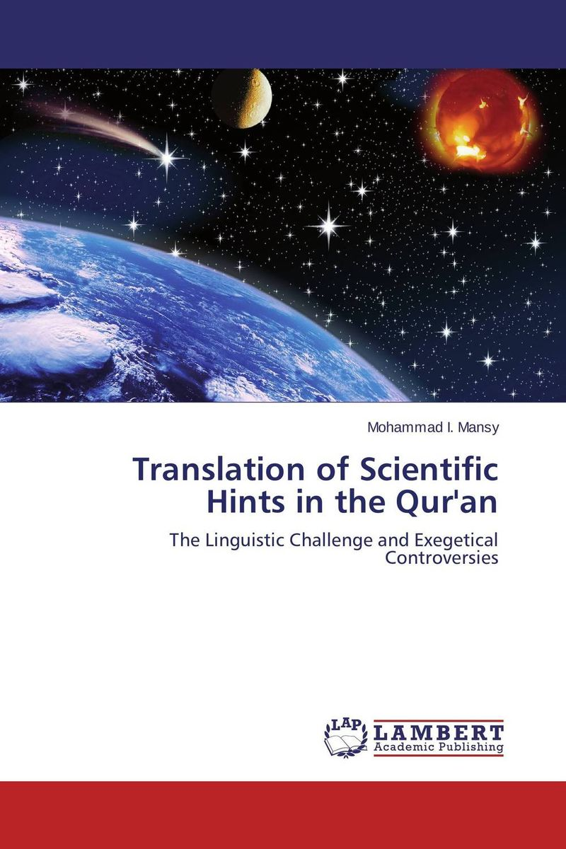 Translation of Scientific Hints in the Qur'an the handbook of translation and cognition