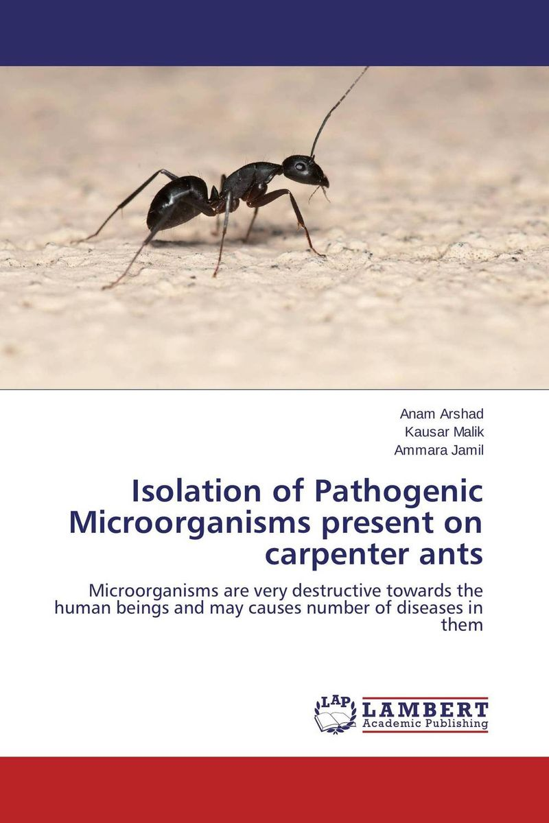 Isolation of Pathogenic Microorganisms present on carpenter ants seeing things as they are