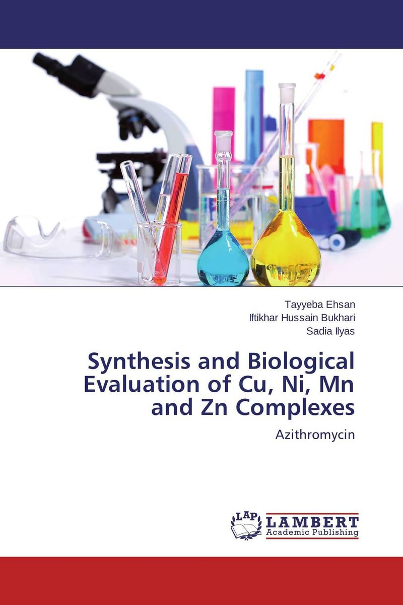 Synthesis and Biological Evaluation of Cu, Ni, Mn and Zn Complexes недорого