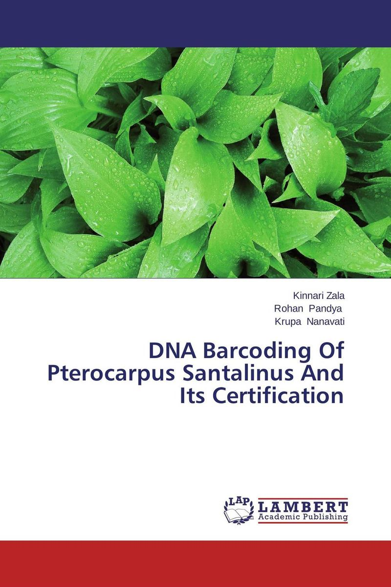 DNA Barcoding Of Pterocarpus Santalinus And Its Certification rakesh kumar tiwari and rajendra prasad ojha conformation and stability of mixed dna triplex
