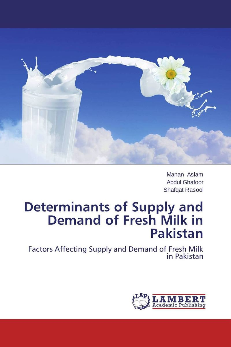 Determinants of Supply and Demand of Fresh Milk in Pakistan