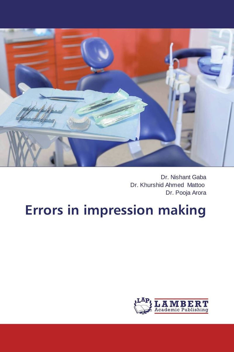 Errors in impression making the comedy of errors