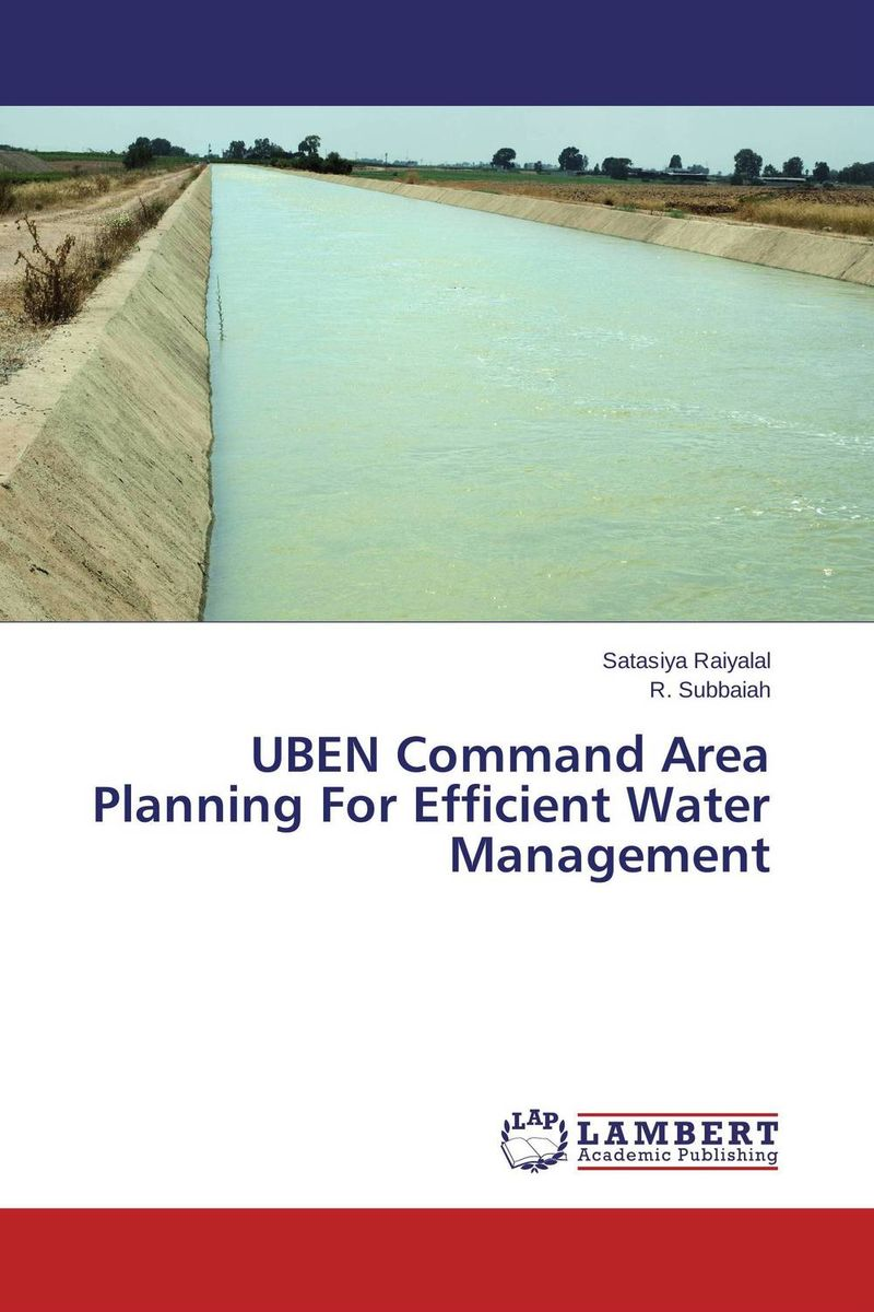 UBEN Command Area Planning For Efficient Water Management optimal and efficient motion planning of redundant robot manipulators