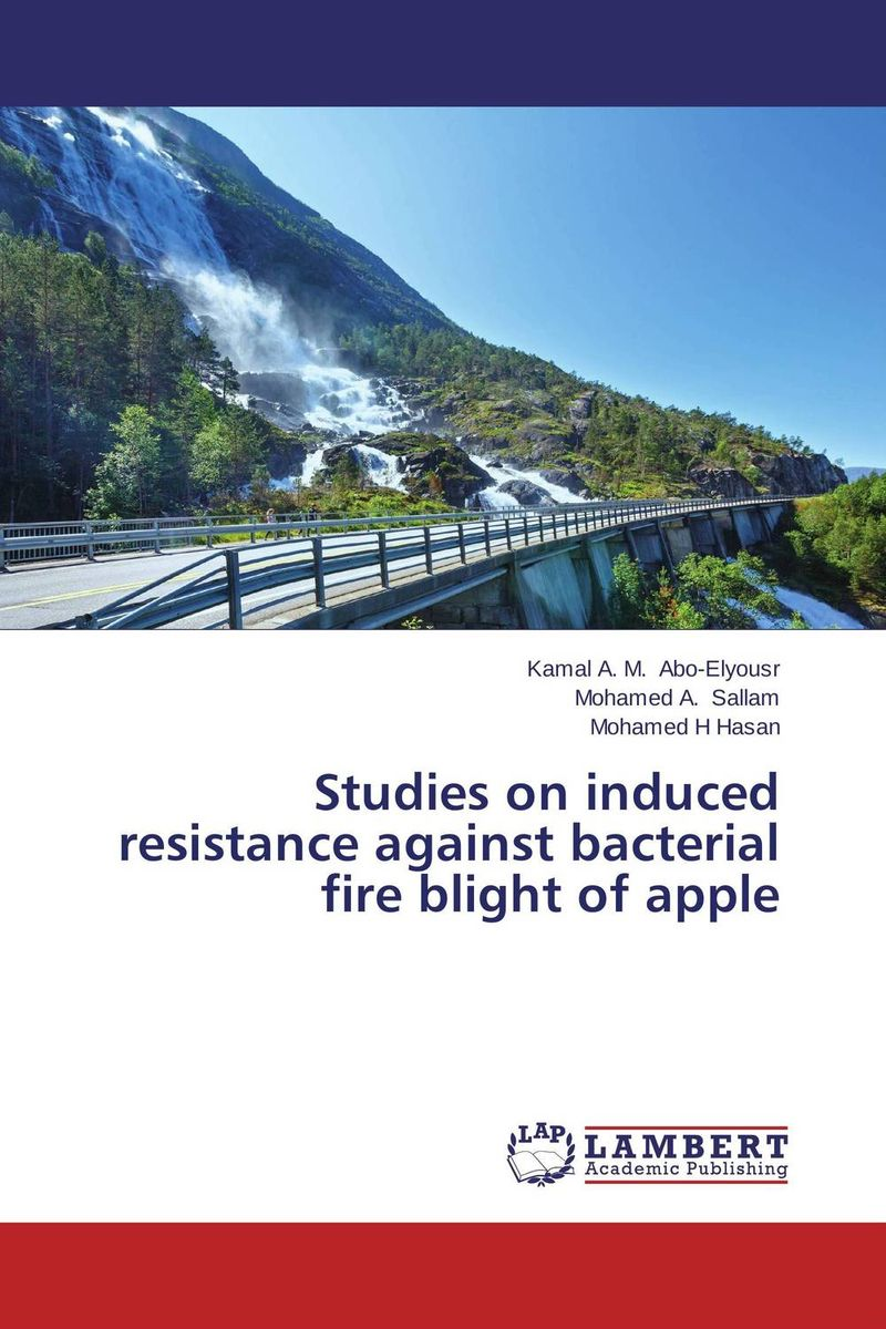 Studies on induced resistance against bacterial fire blight of apple analysis of bacterial colonization on gypsum casts