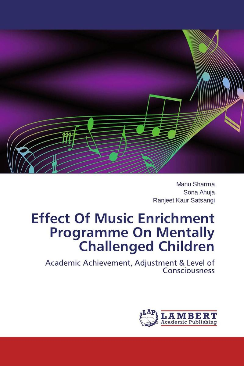 Effect Of Music Enrichment Programme On Mentally Challenged Children nify benny and c h sujatha enrichment of sulphur compounds in the cochin estuarine system