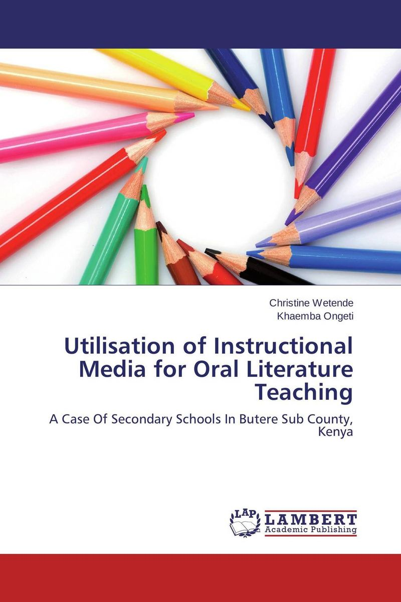 Utilisation of Instructional Media for Oral Literature Teaching learning resources набор пробей