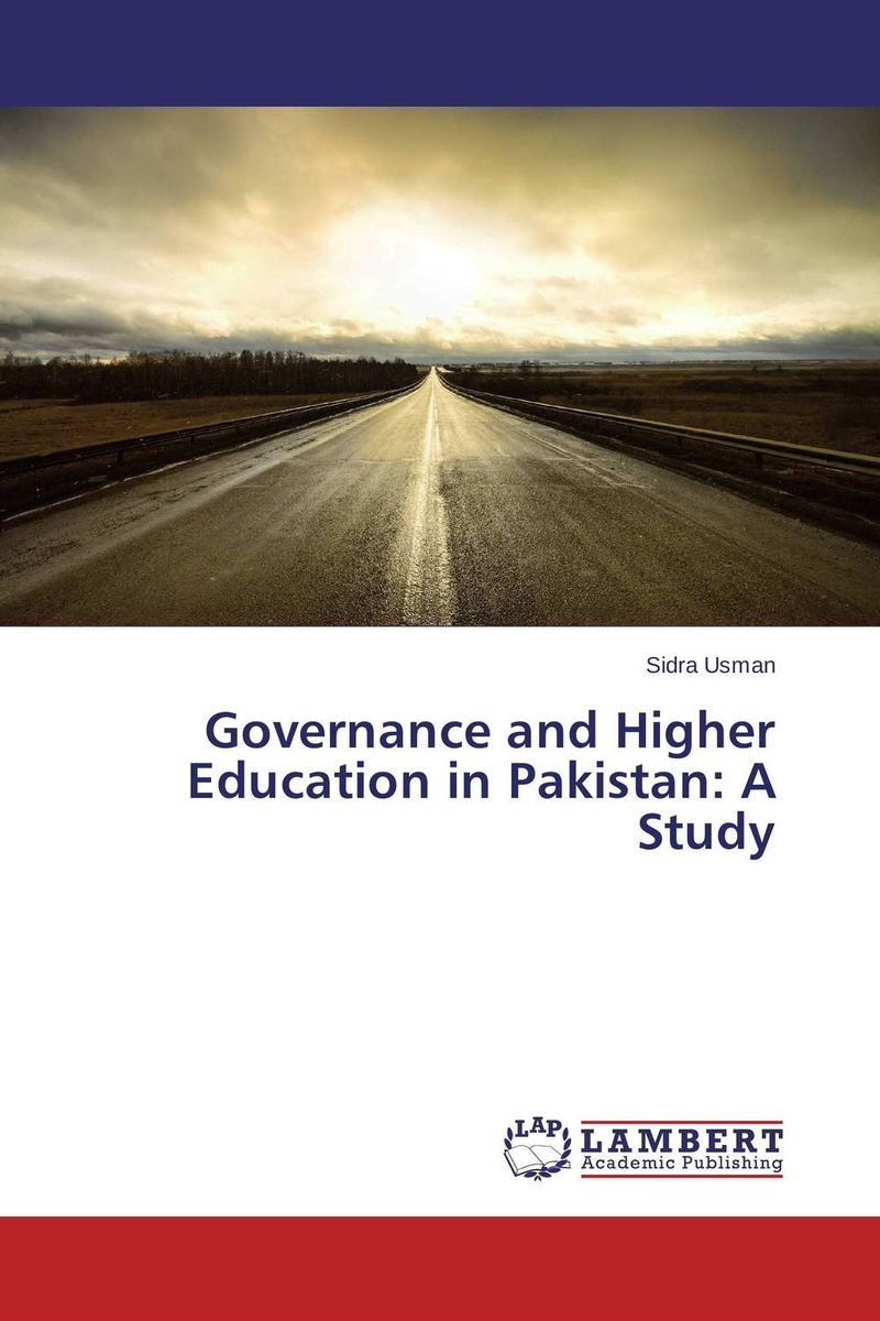 Governance and Higher Education in Pakistan: A Study corporate governance and firm value