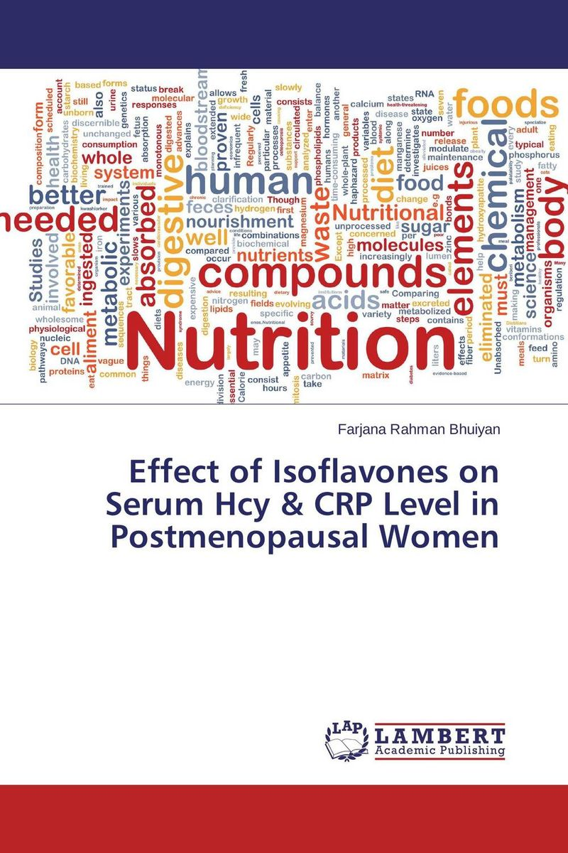 Effect of Isoflavones on Serum Hcy & CRP Level in Postmenopausal Women soybean extract soy isoflavones
