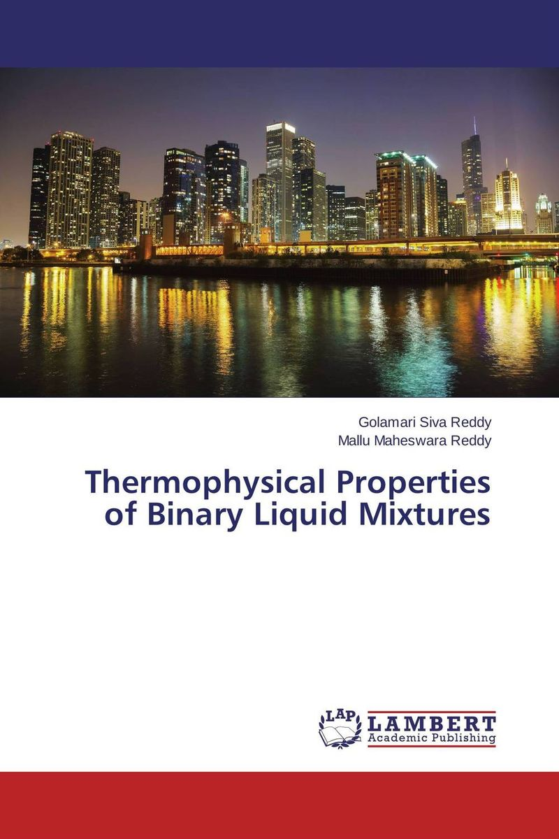 Thermophysical Properties of Binary Liquid Mixtures семена салат ералаш 1 0г
