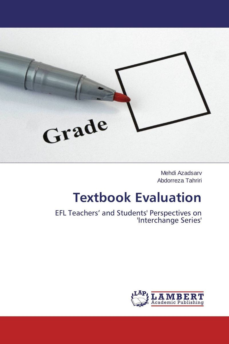 Textbook Evaluation the role of evaluation as a mechanism for advancing principal practice