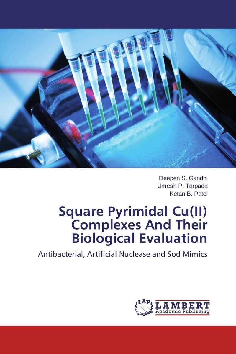 Square Pyrimidal Cu(II) Complexes And Their Biological Evaluation недорого