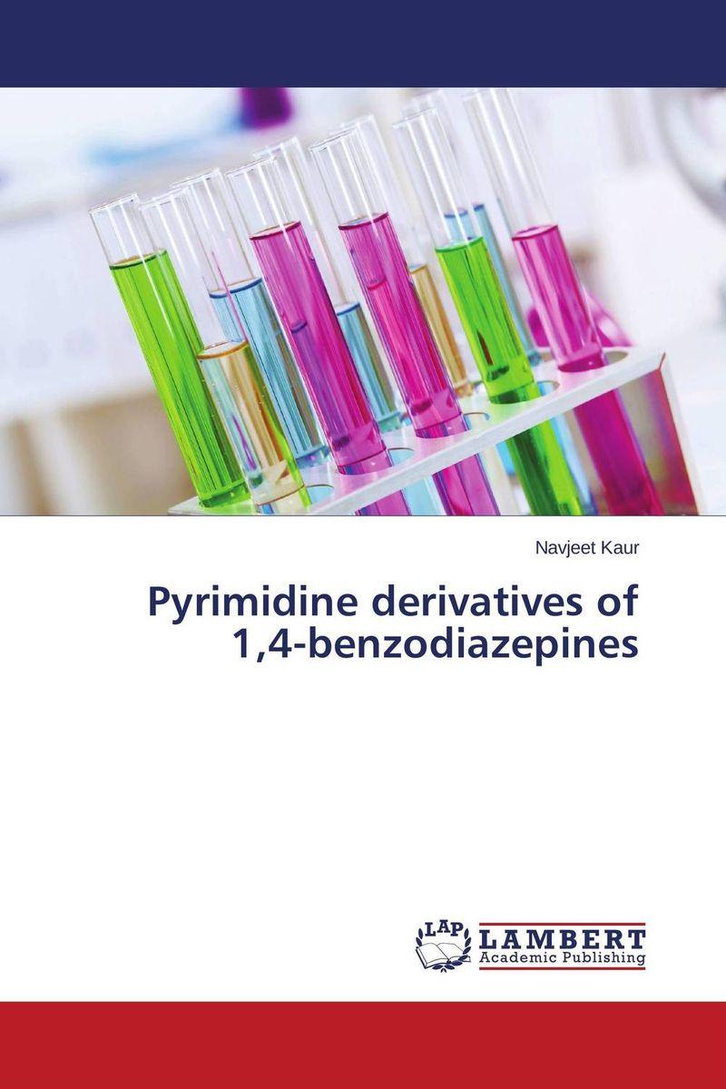 цена на Pyrimidine derivatives of 1,4-benzodiazepines