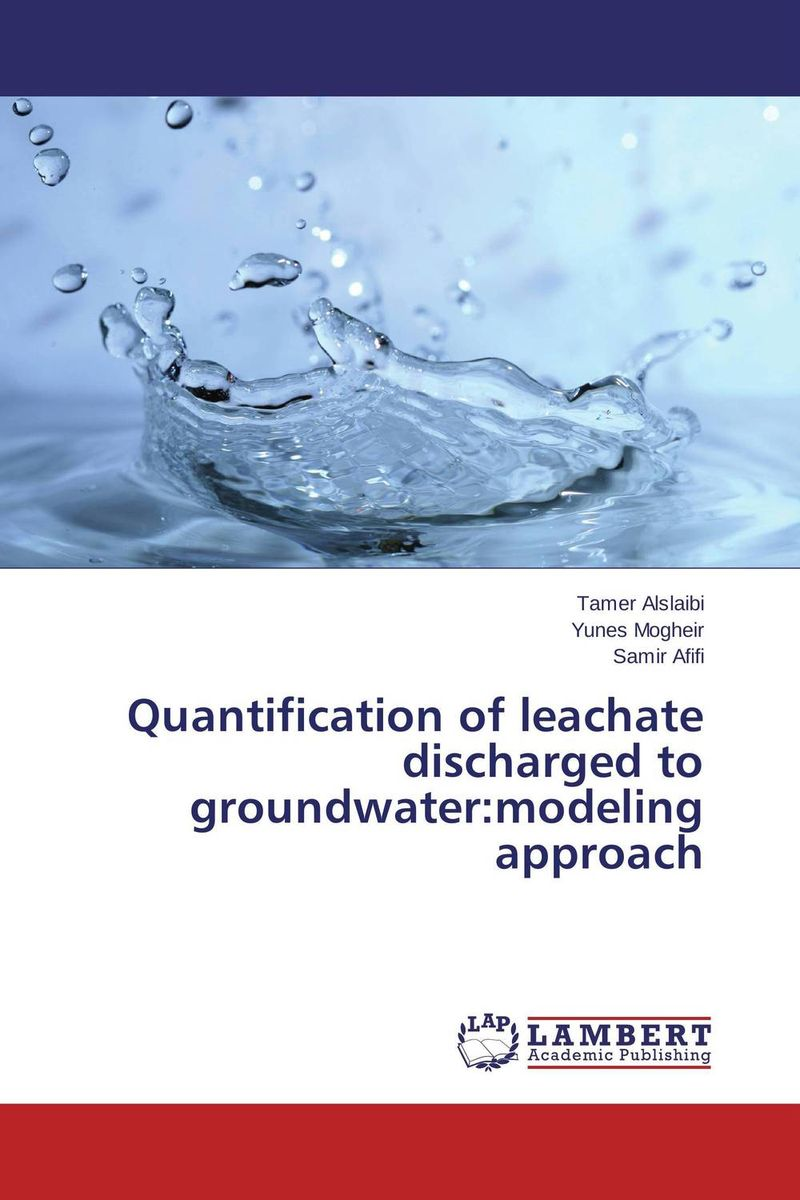 Quantification of leachate discharged to groundwater:modeling approach