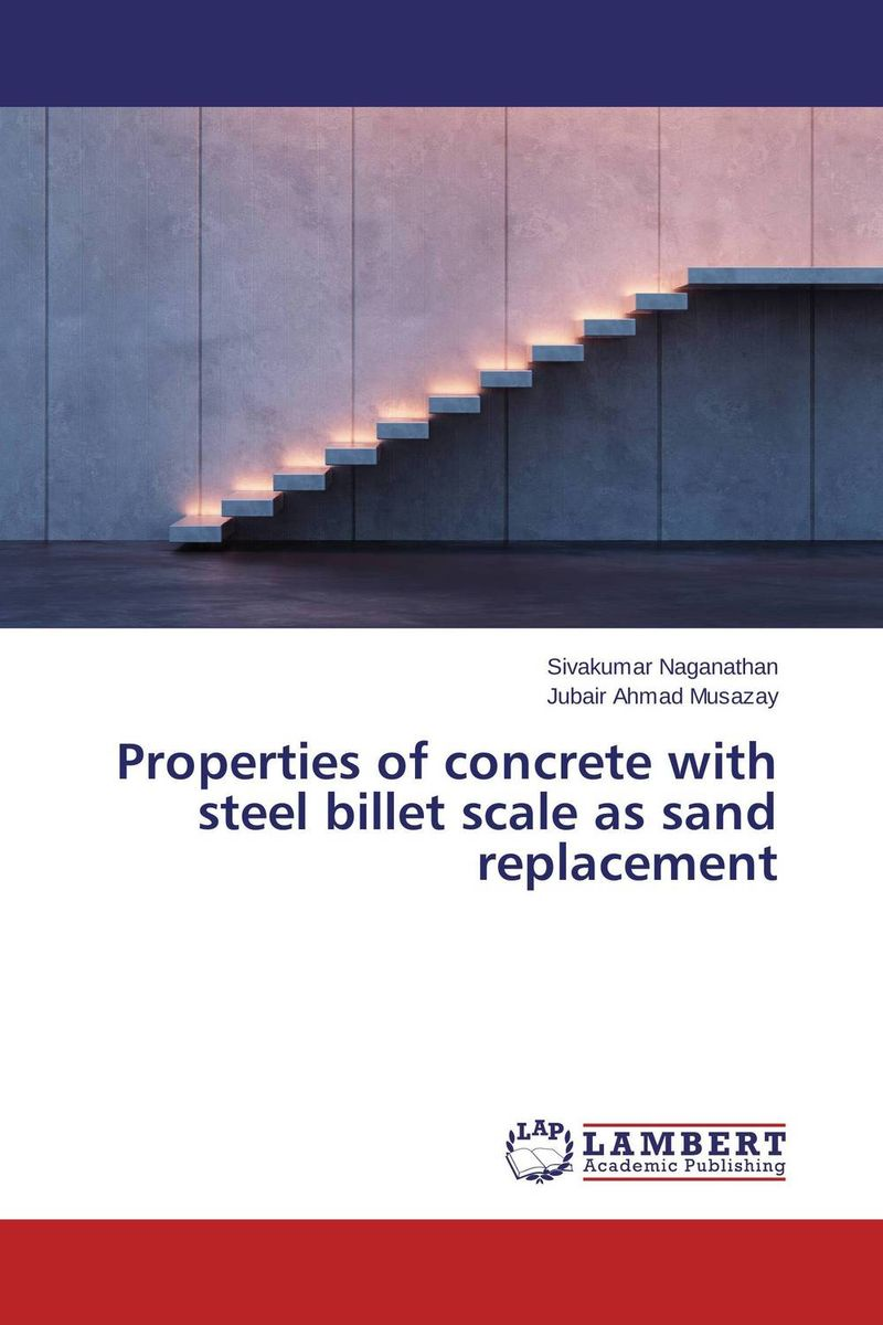 Properties of concrete with steel billet scale as sand replacement