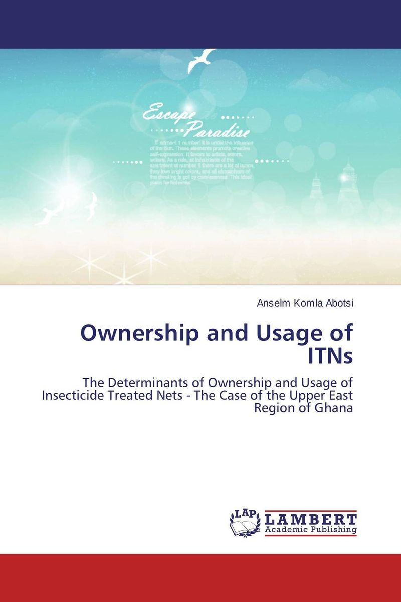 Ownership and Usage of ITNs the concept of collective ownership in ship