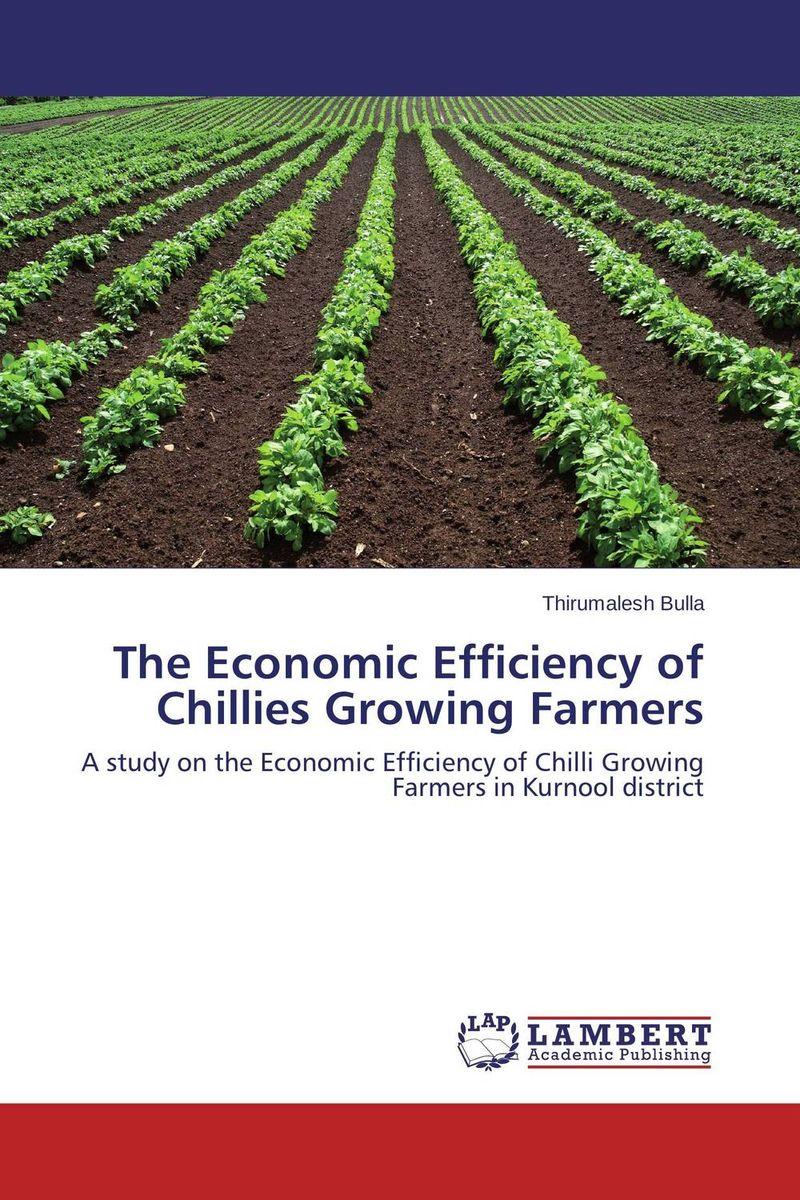 The Economic Efficiency of Chillies Growing Farmers economic methodology