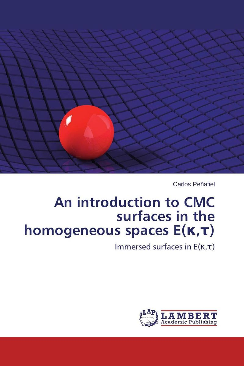 An introduction to CMC surfaces in the homogeneous spaces E(?,?) штатив camanchi cmc 907 black