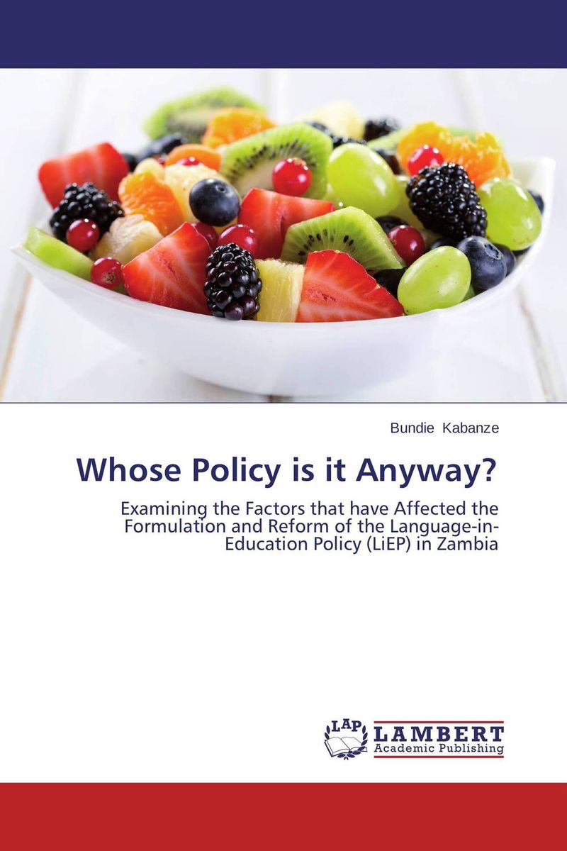 Whose Policy is it Anyway? education and language policy of ethiopia