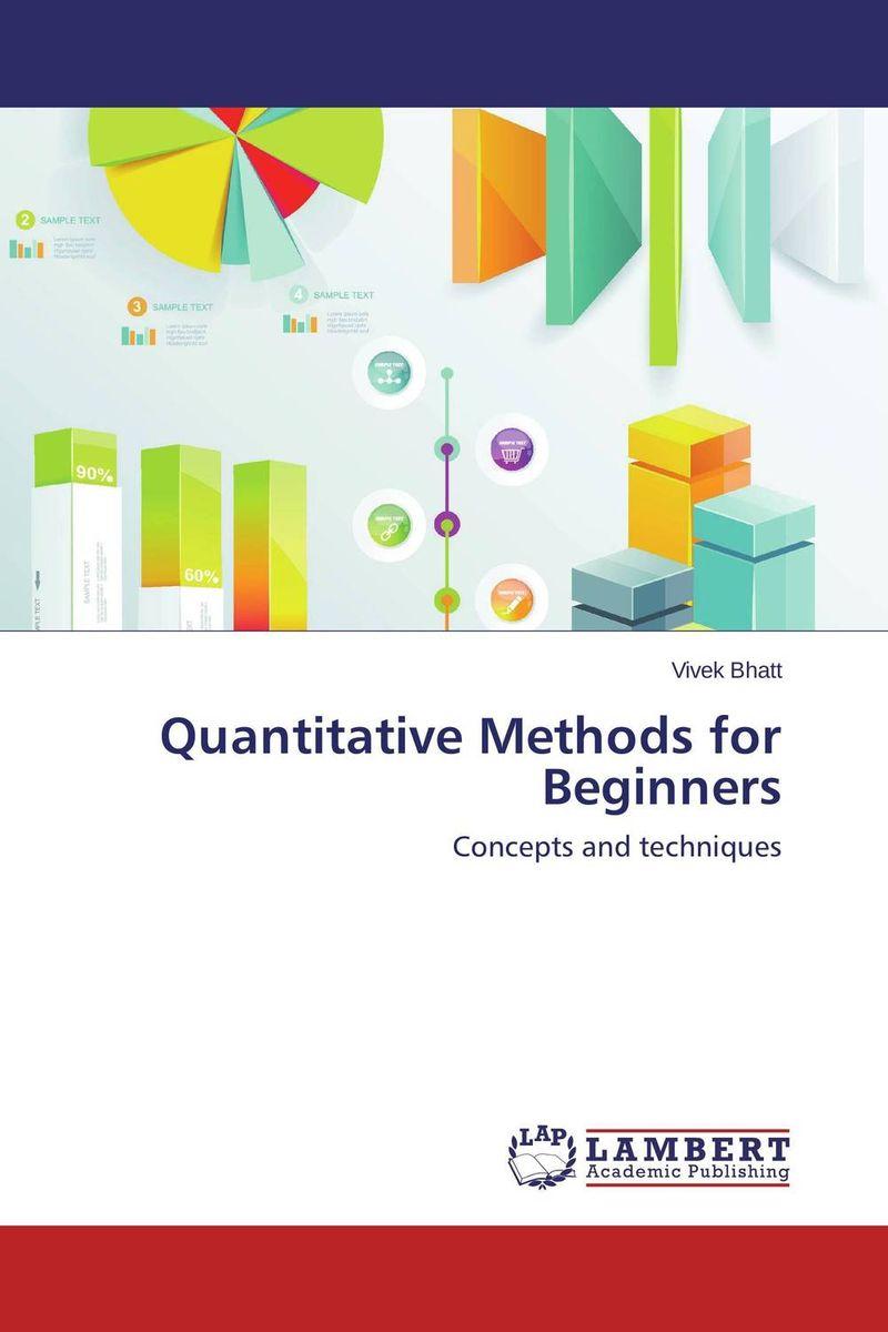 Quantitative Methods for Beginners