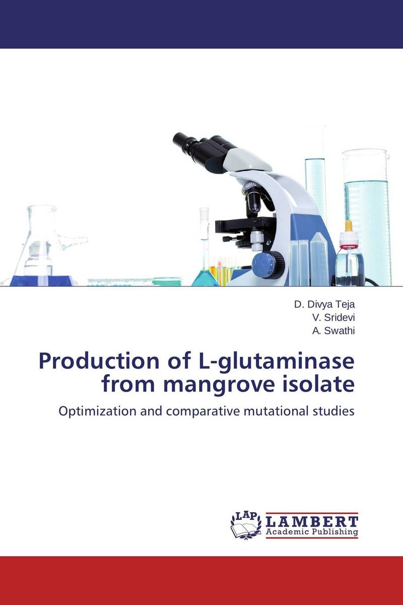 Production of L-glutaminase from mangrove isolate using enzyme from novozyme