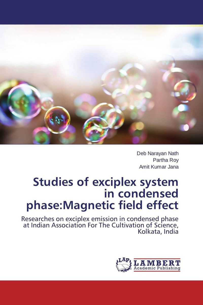 Studies of exciplex system in condensed phase:Magnetic field effect недорого