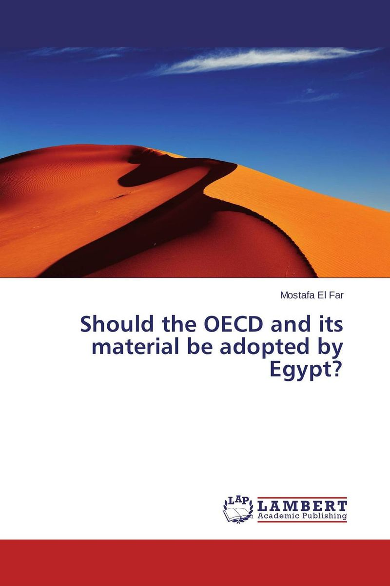 Should the OECD and its material be adopted by Egypt?