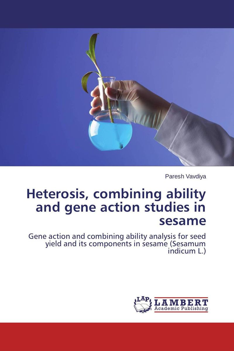 Heterosis, combining ability and gene action studies in sesame heterosis and combining ability in brassica using diallel crosses