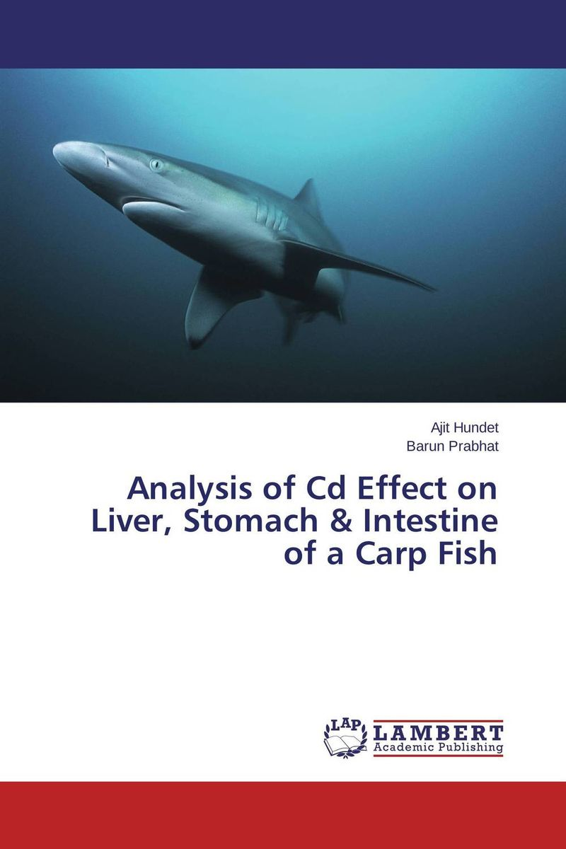 Analysis of Cd Effect on Liver, Stomach & Intestine of a Carp Fish analysis of bacterial colonization on gypsum casts