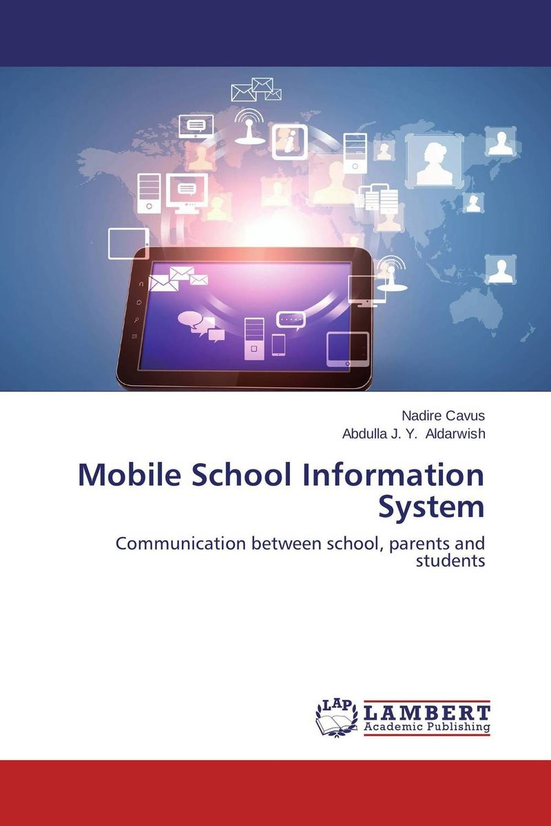 Mobile School Information System clustering information entities based on statistical methods