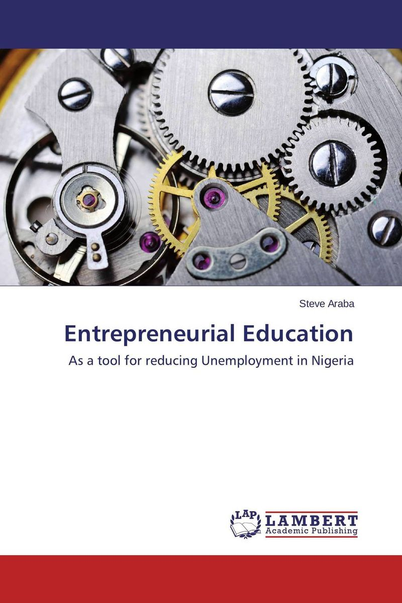 Entrepreneurial Education system of education in nigeria