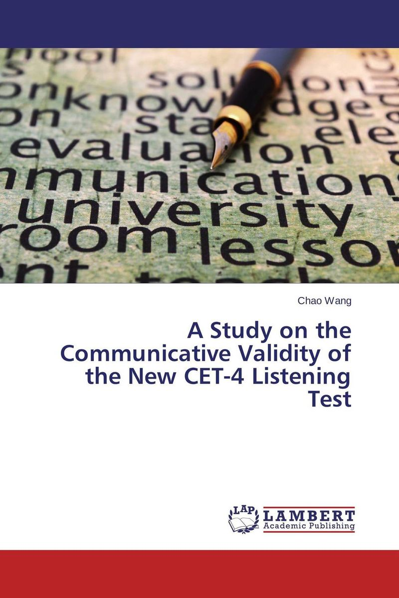 A Study on the Communicative Validity of the New CET-4 Listening Test a study of the religio political thought of abdurrahman wahid