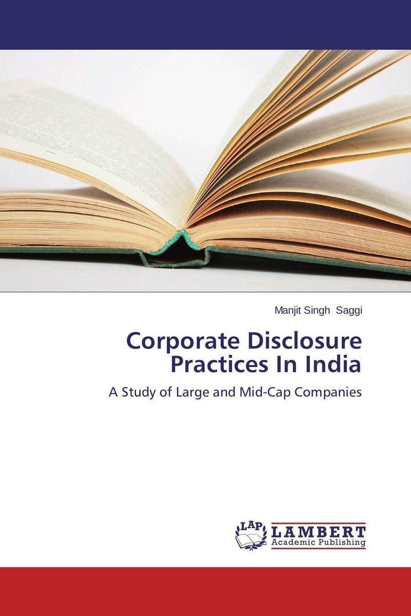 Corporate Disclosure Practices In India