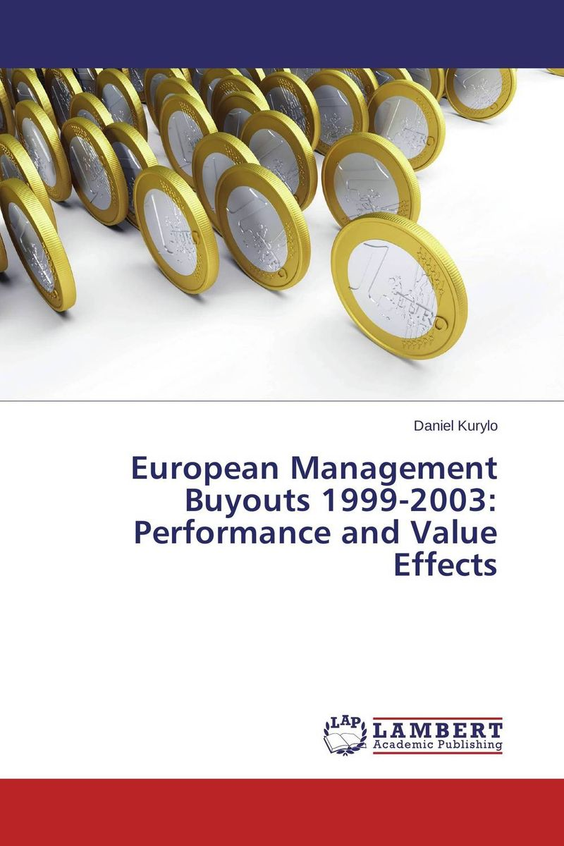 термос tiger mbo e050 500ml blue mbo e050 a European Management Buyouts 1999-2003: Performance and Value Effects