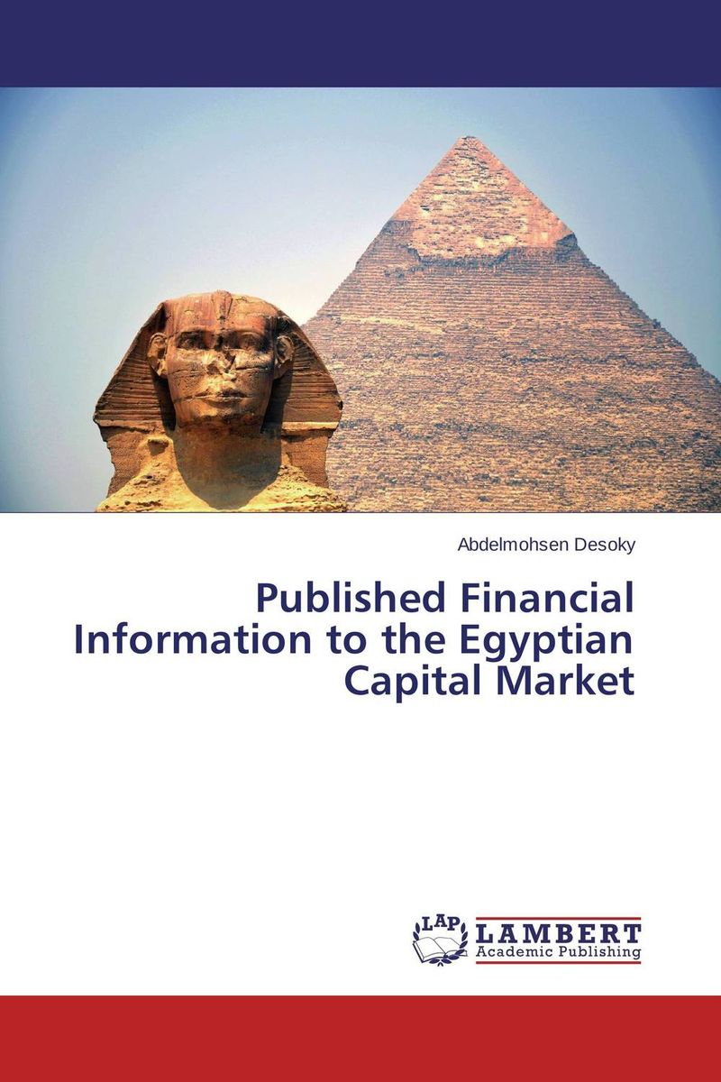 Published Financial Information to the Egyptian Capital Market  information technology and accounting curriculum in egypt